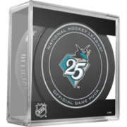 Sher-Wood San Jose Sharks 25th Anniversary Official Game Puck