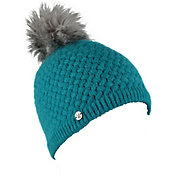 Spyder Girls' Icicle Striped Knit Beanie
