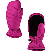 Spyder Girls' Candy Down Mittens