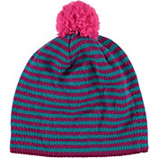 Spyder Girls' Treasure Striped Knit Beanie