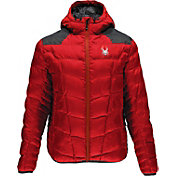 Spyder Men's Geared Hoody Synthetic Down Jacket