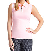 Tail Women's Classic Sleeveless Mesh Golf Polo