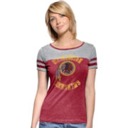 Touch by Alyssa Milano Women's Washington Redskins Morgan Rhinestone Burgundy T-Shirt