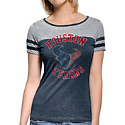 Touch by Alyssa Milano Women's Houston Texans Morgan Rhinestone T-Shirt