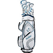 Tour Edge Women's Lady Edge 17-Piece Complete Set – Blue (Graphite)