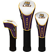 Team Effort LSU Tigers Headcovers - 3-Piece