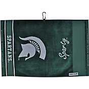 Team Effort Michigan State Spartans Jacquard Golf Towel