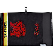 Team Effort Maryland Terrapins Jacquard Golf Towel
