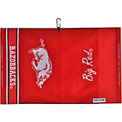 Team Effort Arkansas Razorbacks Jacquard Golf Towel