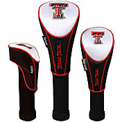 Team Effort Texas Tech Red Raiders Headcovers - 3-Pack