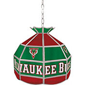 Trademark Games Milwaukee Bucks 16'' Tiffany Lamp