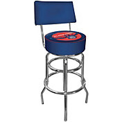 Trademark Games Atlanta Hawks Padded Swivel Bar Stool with Back