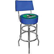 Trademark Games Minnesota Timberwolves Padded Swivel Bar Stool with Back