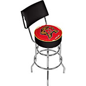 Trademark Games Maryland Terrapins Padded Swivel Bar Stool with Back