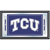 Trademark Games TCU Horned Frogs Framed Team Logo Mirror