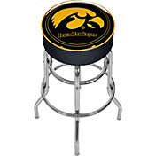 Trademark Games Iowa Hawkeyes Padded Bar Stool