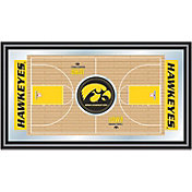Trademark Games Iowa Hawkeyes Basketball Framed Full Court Mirror