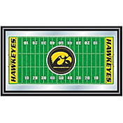 Trademark Games Iowa Hawkeyes Framed Football Field Mirror