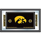 Trademark Games Iowa Hawkeyes Framed Team Logo Mirror