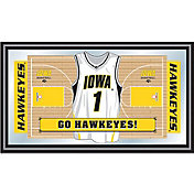 Trademark Games Iowa Hawkeyes Basketball Framed Jersey Mirror