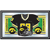 Trademark Games Iowa Hawkeyes Football Framed Jersey Mirror