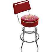 Trademark Games Iowa State Cyclones Padded Swivel Bar Stool with Back