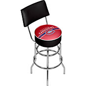 Trademark Games Montreal Canadiens Padded Swivel Bar Stool with Back