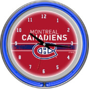 Trademark Games Montreal Canadiens 14'' Neon Clock