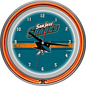 Trademark Games San Jose Sharks 14'' Neon Clock