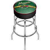 Trademark Games Minnesota Wild Padded Bar Stool