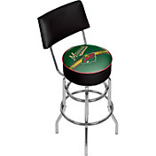Trademark Games Minnesota Wild Padded Swivel Bar Stool with Back