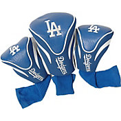 Team Golf Los Angeles Dodgers Contoured Headcovers - 3-Pack