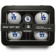 Team Golf Los Angeles Dodgers 4-Ball Tin Set