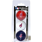 Team Golf Cleveland Indians Golf Balls - 3-Pack