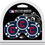 Team Golf Cleveland Indians Poker Chips Ball Markers - 3-Pack
