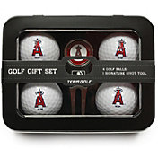 Team Golf Los Angeles Angels 4-Ball Tin Set