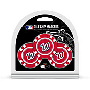 Team Golf Washington Nationals Poker Chips Ball Markers - 3-Pack