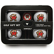 Team Golf Maryland Terrapins 4-Ball Tin Set