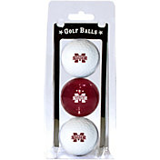 Team Golf Mississippi State Bulldogs Golf Balls - 3-Pack