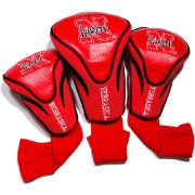 Team Golf Nebraska Cornhuskers Contour Headcovers - 3-Pack