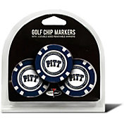 Team Golf Pittsburgh Panthers Poker Chips Ball Markers - 3-Pack