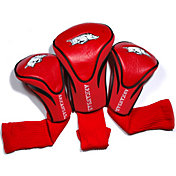 Team Golf Arkansas Razorbacks Cardinal Contour Headcovers - 3-Pack