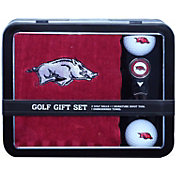 Team Golf Arkansas Razorbacks Embroidered Towel Tin Set