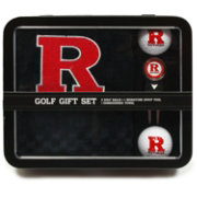 Team Golf Rutgers Scarlet Knights Embroidered Towel Tin Set