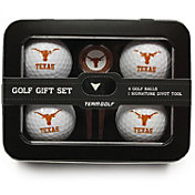 Team Golf Texas Longhorns 4-Ball Tin Set