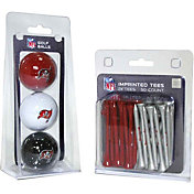 Team Golf Tampa Bay Buccaneers 3 Ball/50 Tee Combo Gift Pack