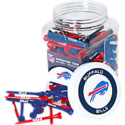 Team Golf Buffalo Bills 175 Count Golf Tee Jar