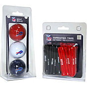 Team Golf Buffalo Bills 3 Ball/50 Tee Combo Gift Pack