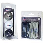 Team Golf New England Patriots 3 Ball/50 Tee Combo Gift Pack