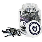 Team Golf Oakland Raiders 175 Count Golf Tee Jar